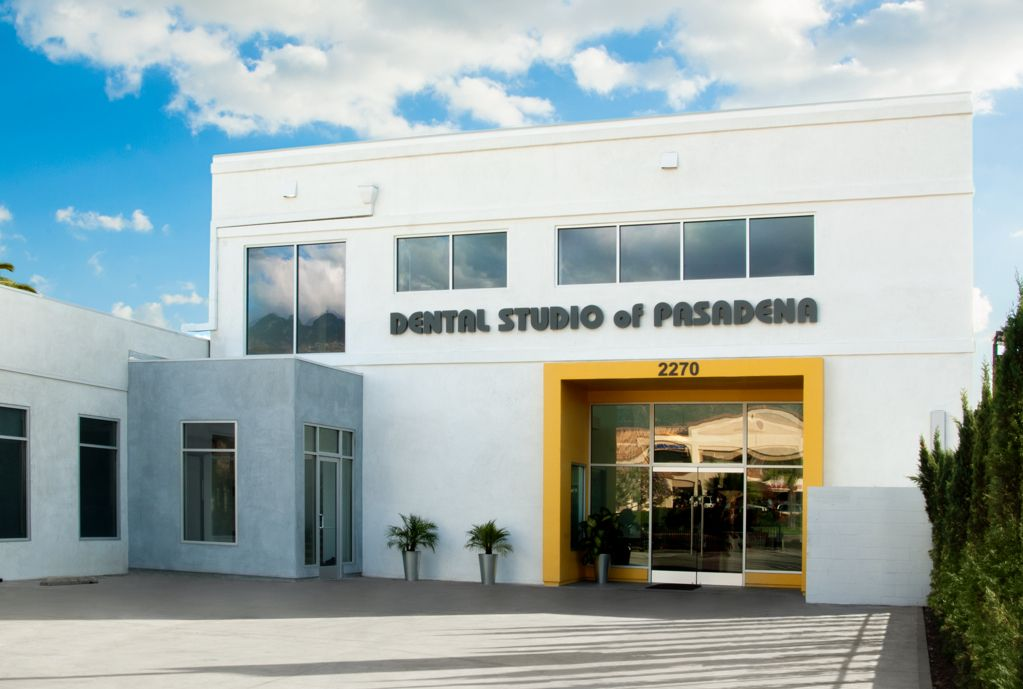 Dental Studio of Pasadena building at 2270 E. Colorado Boulevard in Pasadena, CA