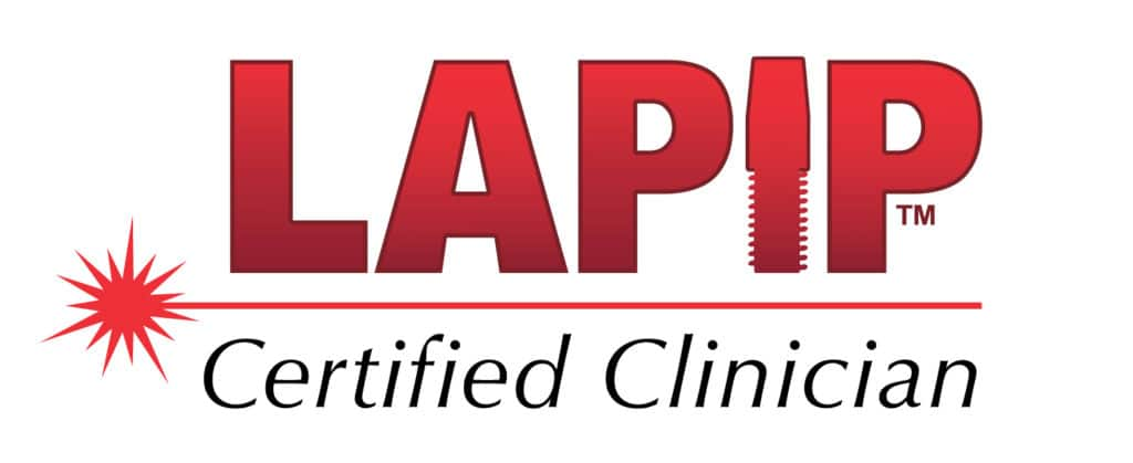 lapip certified clinician badge